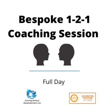 Bespoke Full Day 1-2-1 Coaching Session