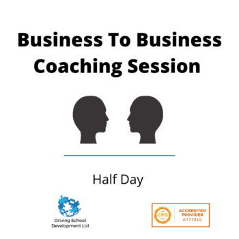Business To Business For Multi Car Driving Schools Live Interactive Online – Half Day
