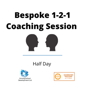Bespoke Half Day 1-2-1 Coaching Session
