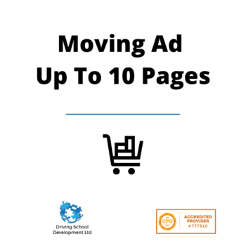 Moving Ad Up To 10 Pages