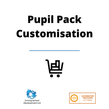 Pupil Pack Customisation