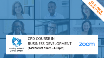 Live/Interactive On Zoom  – CPD Course In Business Development (14/07/2021 10am-4.30pm)