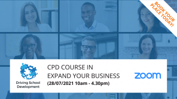 Live/Interactive On Zoom  – CPD Course In Expand Your Business (28/07/2021 10am-4.30pm)