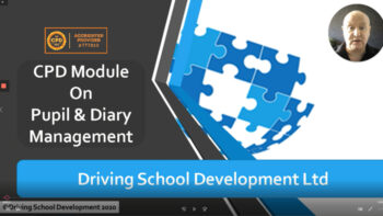 MODULE 6 PUPIL & DIARY MANAGEMENT – CPD MODULES