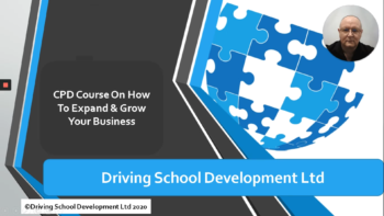 CPD Course In Business Development – Completely Pre-Recorded Online