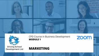 CPD Course – Module 1: Marketing. Live On Zoom (13/01/2021 12-2pm)