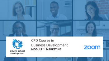 CPD Course – Module 1: Marketing. Live On Zoom Maximum 10 Attendees (27/7/2021 7-9pm) Attend All 6 Modules For £150