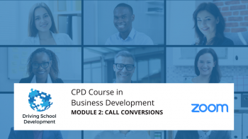 CPD Course – Module 2: Call Conversions. Live On Zoom Maximum 10 Attendees(03/08/2021 7-9pm) Attend All 6 Modules For £150