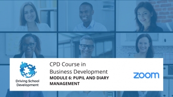 CPD Course – Module 6: Pupil & Diary Management. Live On Zoom Maximum 10 Attendees (10/08/2021 7-9pm) Attend All 6 Modules For £150