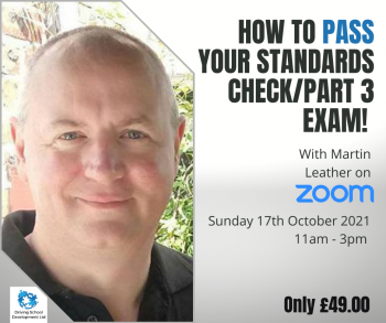 How To PASS Your Standards Check/Part 3 Exam (17-10-2021)